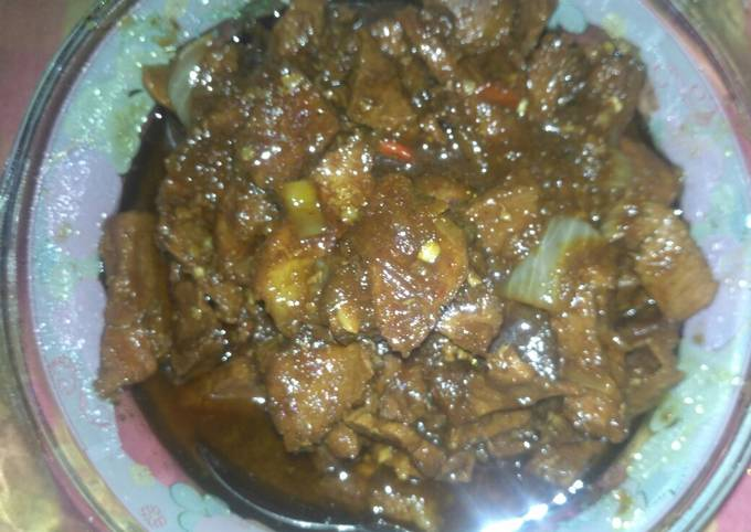 Resep Krengsengan daging simpel enak Anti Gagal