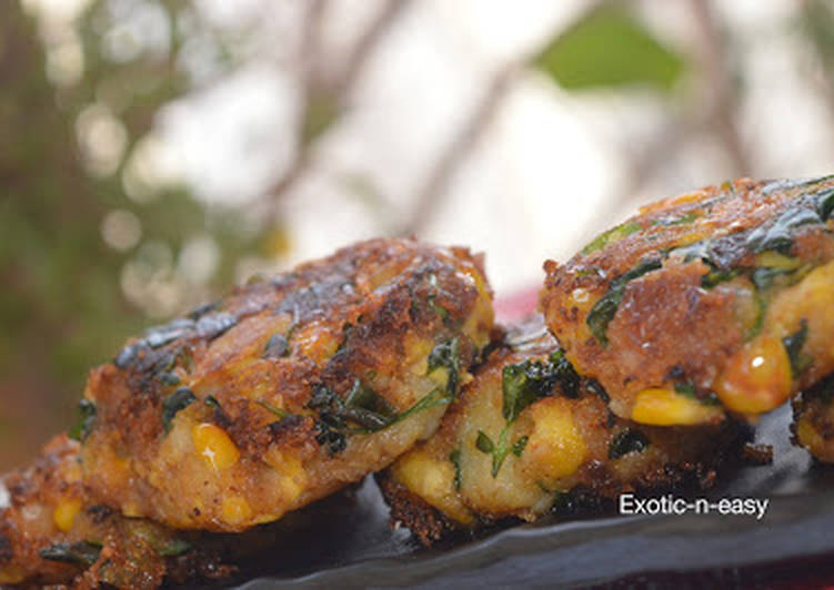 Recipe: Delicious Corn Methi Kebab