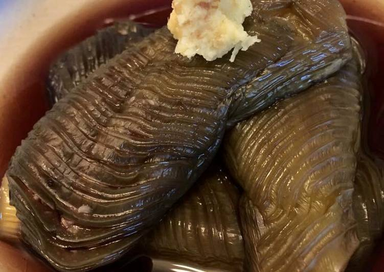 Japanese Eggplant in Dashi stock
