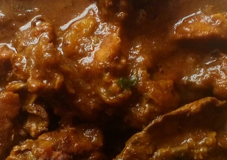 Simple Way to Prepare Homemade Mutton curry recipe