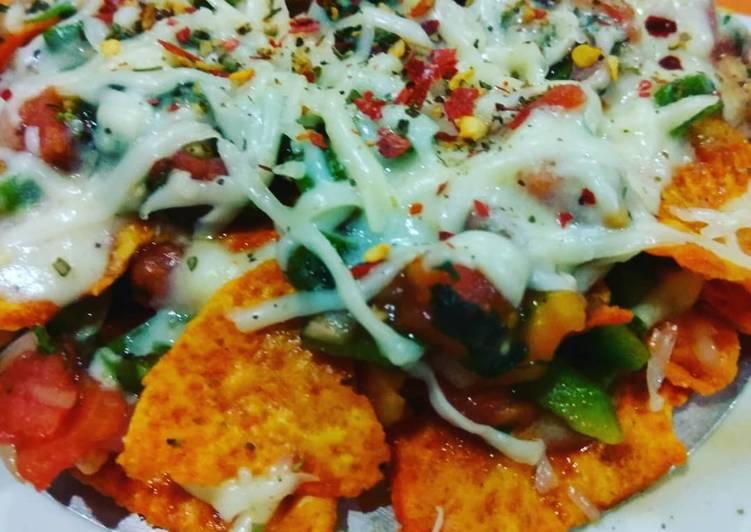 Steps to Make Super Quick Homemade Cheesy nachos