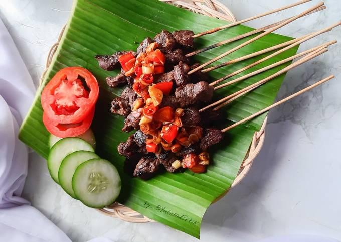 Resep Sate Maranggi (daging sapi), Lezat