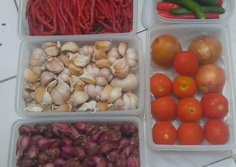 Tatanan sayur pendamping masakan