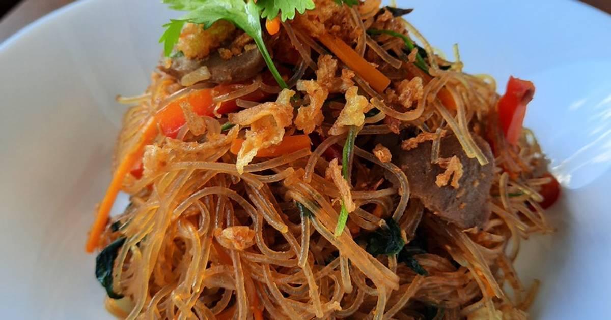 8 699 Resep Mie Hun Goreng Sayur Enak Dan Sederhana Ala Rumahan Cookpad