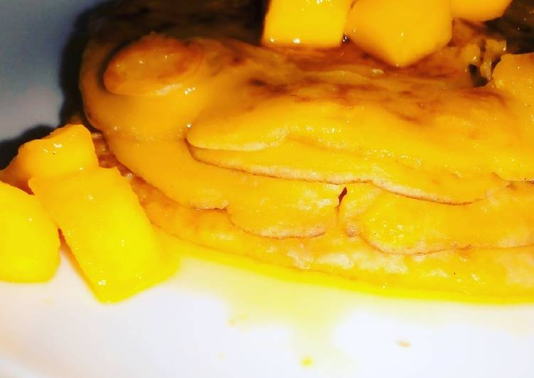 Mango Pancake Recipe | Breakfast Special