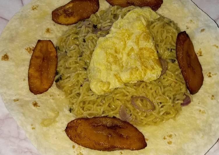 Easiest Way to Prepare Favorite Tortilla bedded Noodles