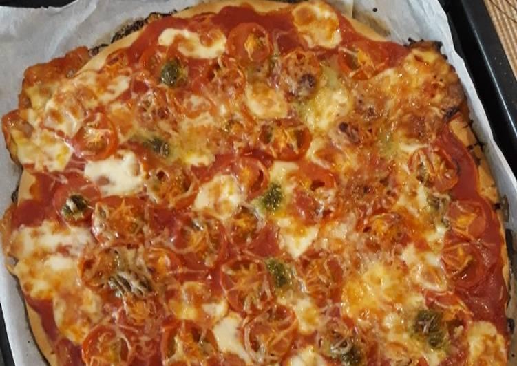 recette ☆Pizza Mozzarella☆ le délicieux