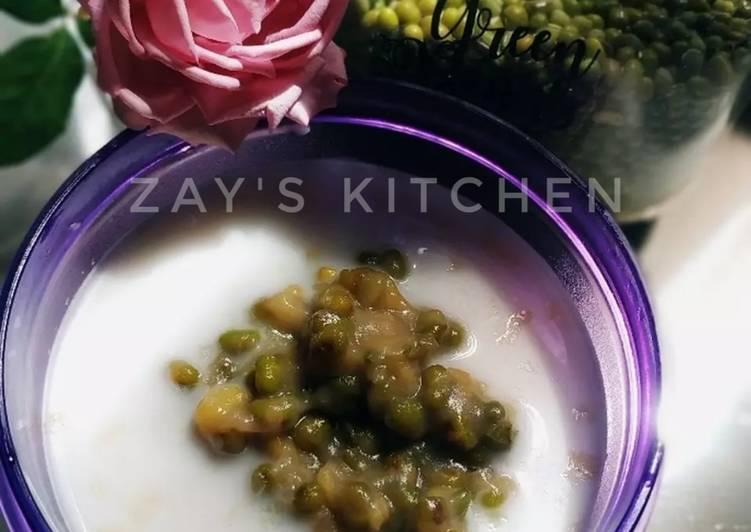 Bubur kacang ijo santan segar