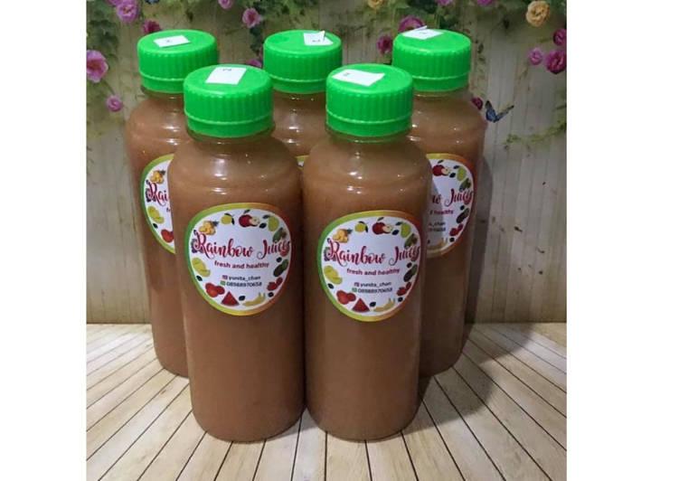 Diet Juice Papaya Pomegranate Avocado Lemon Grape