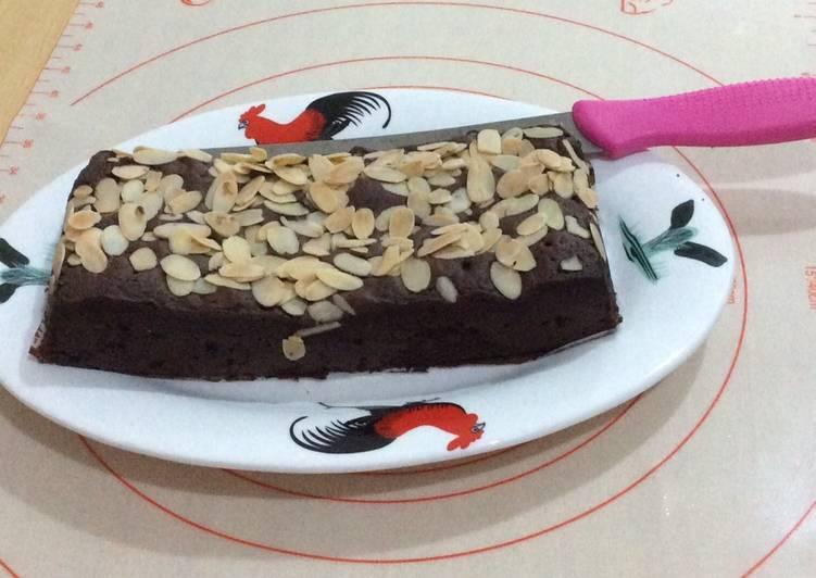 Brownies selai Coklat