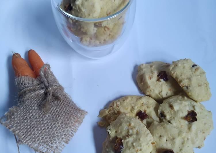 Gluten Free Carrot Cookies (Kue Kering Wortel Bebas Gluten)