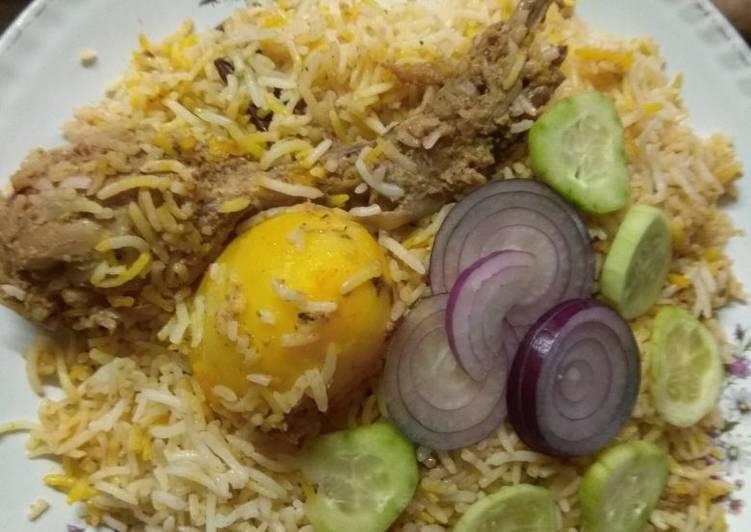 Easiest Way to Prepare Appetizing Chicken biryani