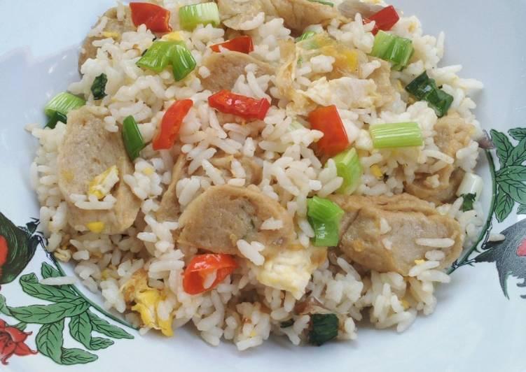 Resep Nasi Goreng Putih Enak Dan Sangat Mudah Oleh Henni Diana Cookpad