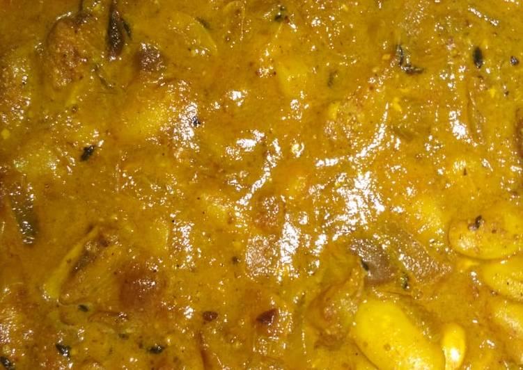 Fresh rajma curry