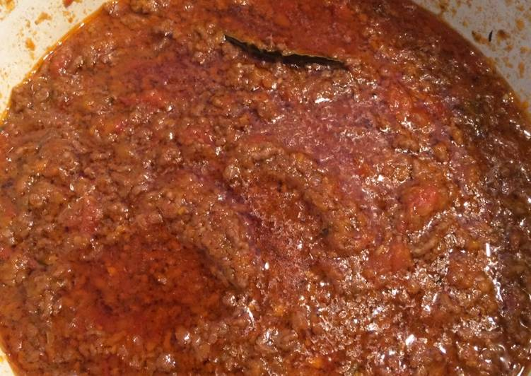 Easiest Recipe: Tasty Super easy Bolognese sauce from scratch