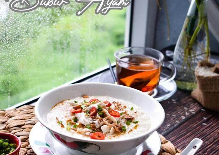 Bubur Nasi Ayam - resepipouler.com