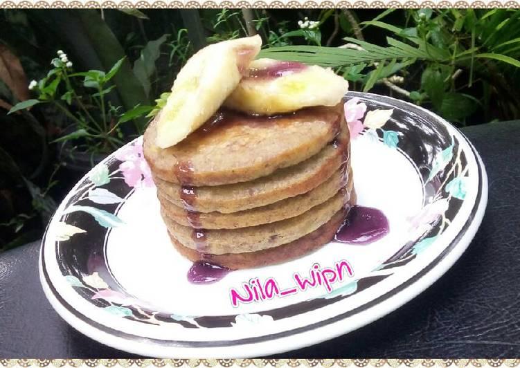 Resep Pancake Pisang Oatmeal Paling Top