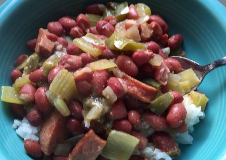 Shorty's Red Beans and Rice - Easy style