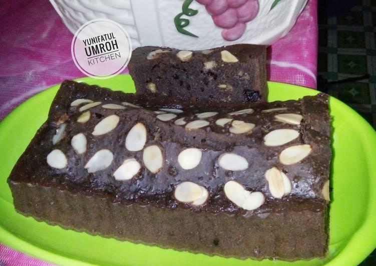 Brownies Pisang Panggang No Mixer