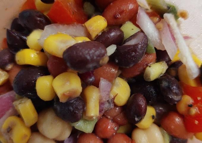 Three Bean Salad Recipe Tasty