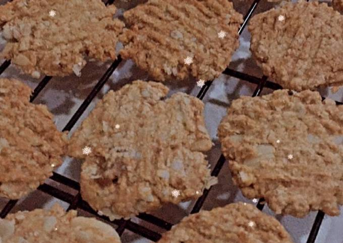 Oat Kenari Cookies