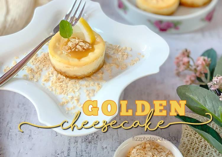 GOLDEN Cheesecake