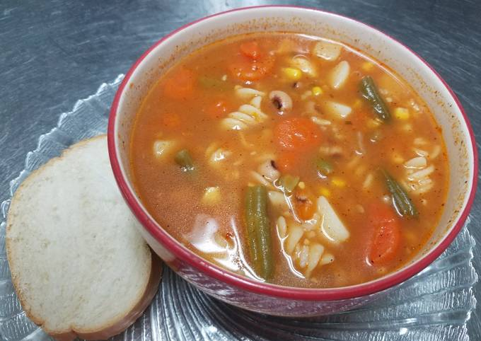 How to Prepare Favorite Winter Vegetable Soup
