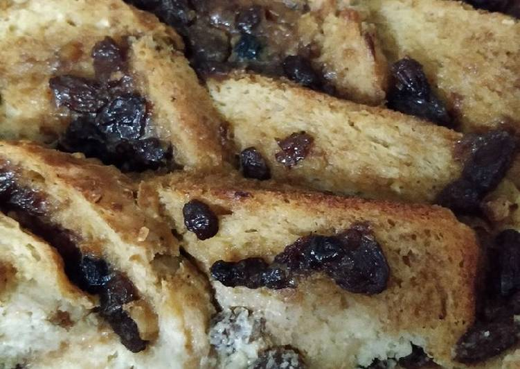 Mincemeat bread pudding