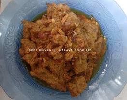 Beef briyani /Daging Sapi Briyani