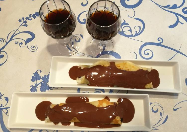 Creps dos chocolates