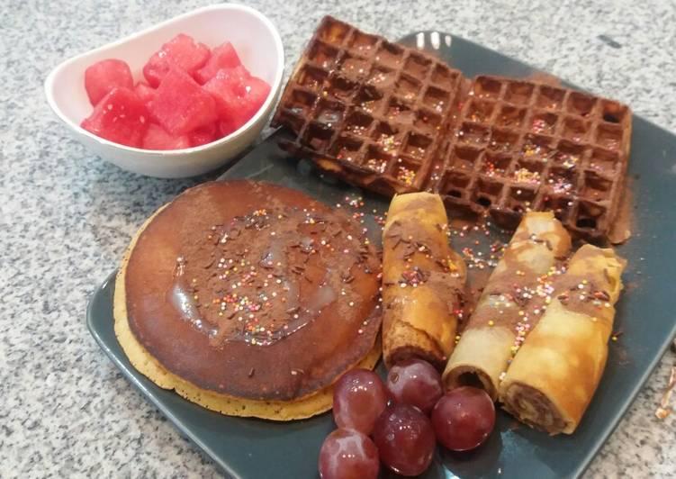 Resep Waffle, Pancake n Crepe ala hotel Bikin Laper