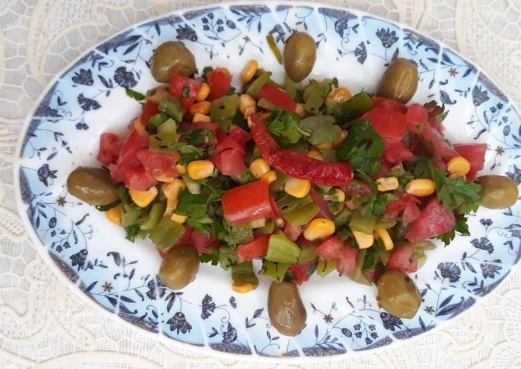 Maniere simple a Preparer Ultime Salade fraîche au persil