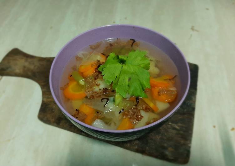 Sayur sop simple