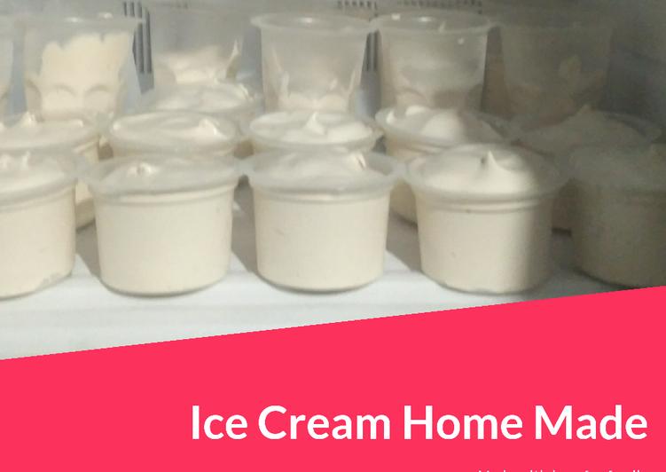 #36. Ice Cream HomeMade with love😍