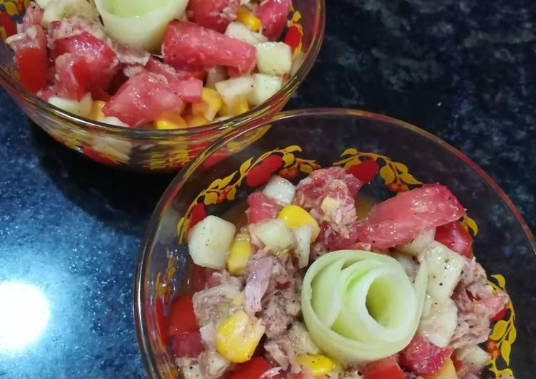 Recette: Salade de thon