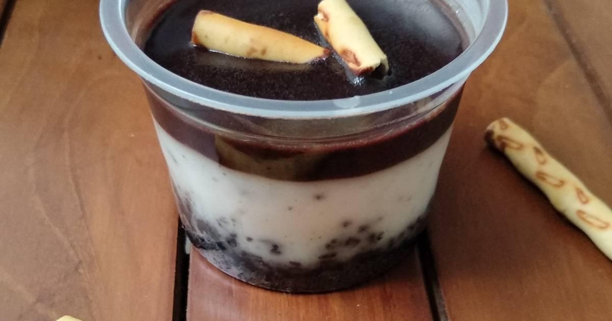 resep dessert whip cream Dessert Box Oreo 🍪 tanpa whipped cream