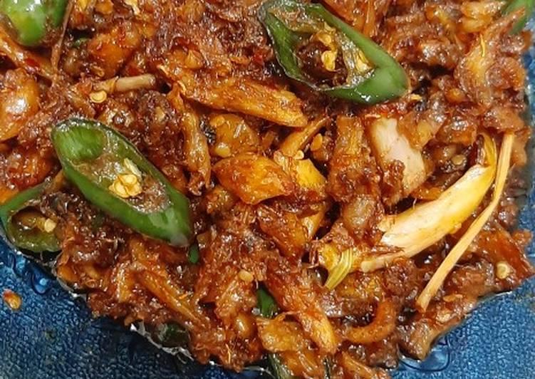 Ayam Suwir Pedas Manis Sederhana