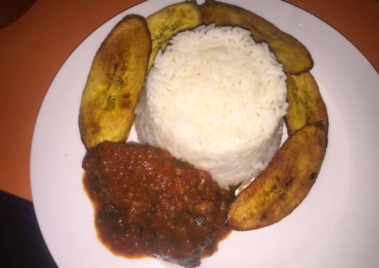 Rice & Goat Meat Stew