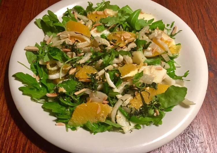 можно фенхель салат рецепты с фото ратуша