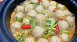 Hình ảnh món Lẩu thái hải sản chua cay
