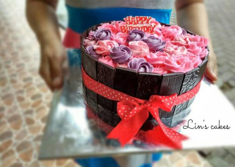 Resep Kue Ulang Tahun Birthday Cake Oleh Lin S Cakes Cookpad