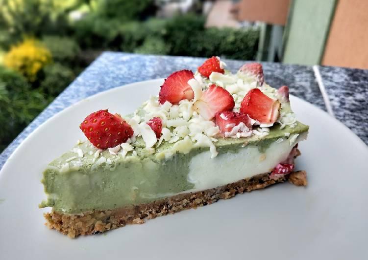 Ricetta Matcha cheesecake