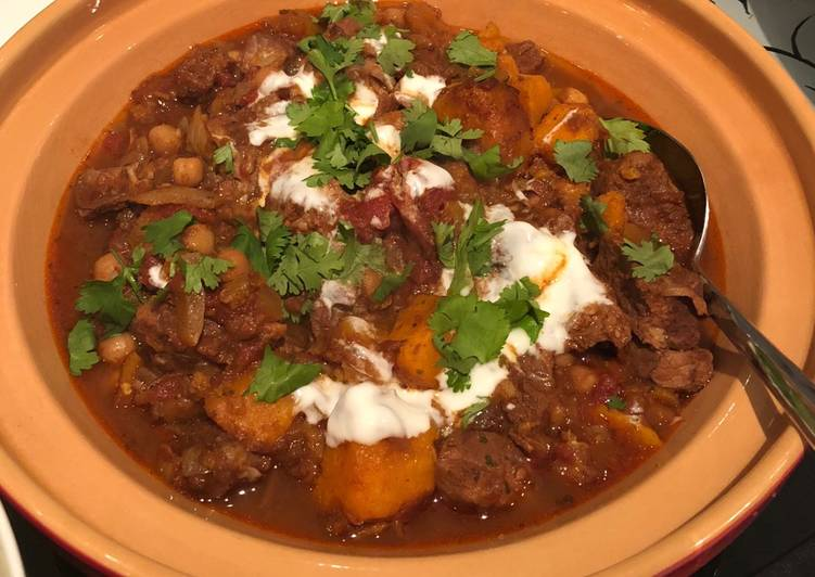 Moroccan Lamb Tagine Recipe By Sarah Jacobs Cookpad