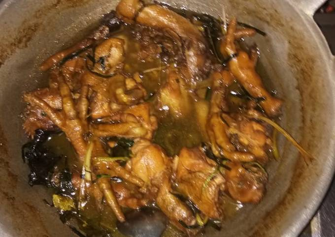 Ayam kecap saos tiram lada hitam