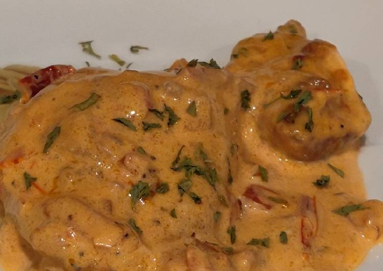 How to Cook Perfect Chicken with Sun Dried Tomato Cream Sauce