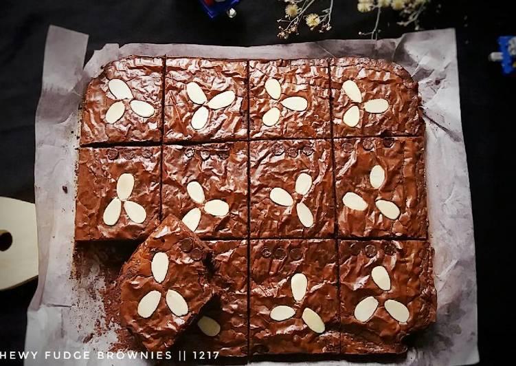 Chewy Fudge Brownie