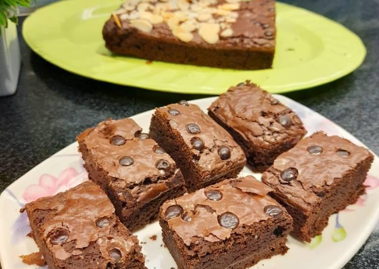 Chewy Brownies ala Erlina Liem