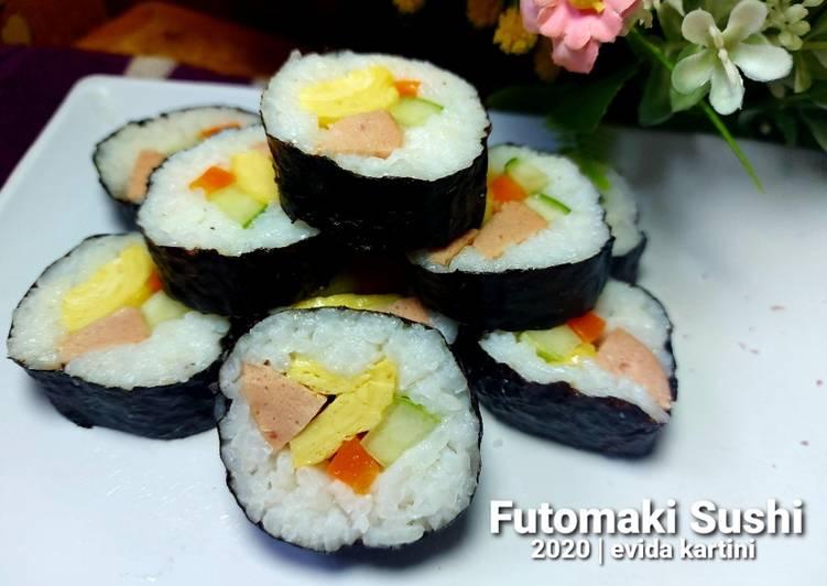 Resep Futomaki Sushi Top Enaknya