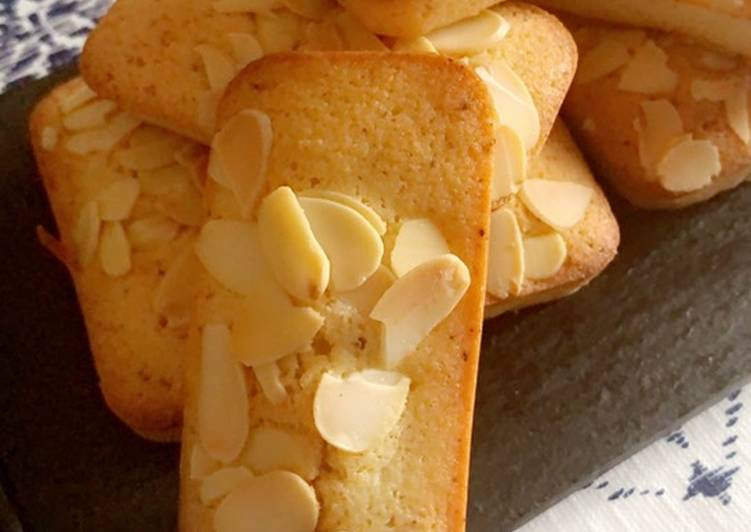 Le moyen le plus simple de Cuire Délicieuse Financiers😍😋😋😋
