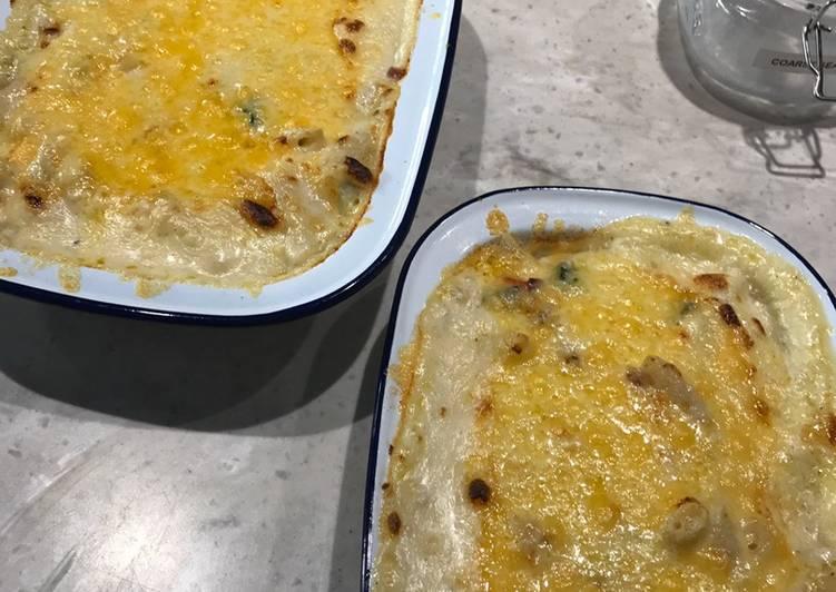 Easiest Way to Prepare Super Quick Homemade Pasta bake